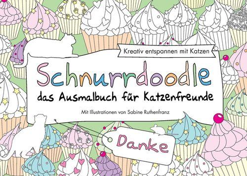 Schnurrdoodle - Danke - das Ausmalbuch für Katzenfreunde