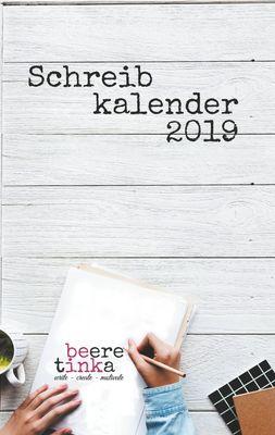 Schreibkalender 2019