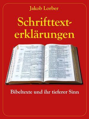 Schrifttexterklärungen