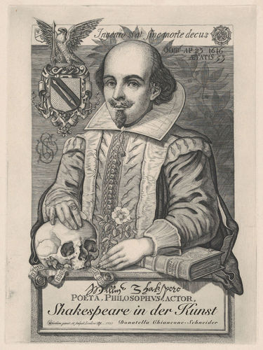 Portrait William Shakespeare