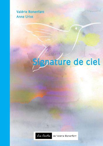 Signature de ciel