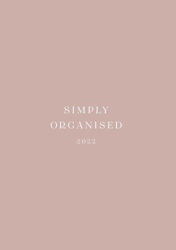 SIMPLY ORGANISED 2022 - premium rosé