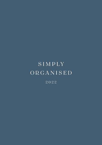 SIMPLY ORGANISED 2022 - simply blue
