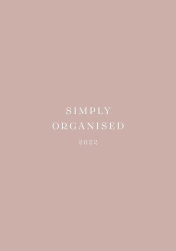 SIMPLY ORGANISED 2022 - simply rosé