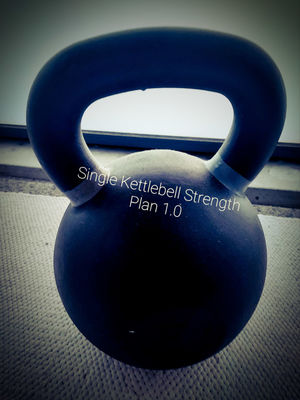 Single kettlebell strength plan 1.0