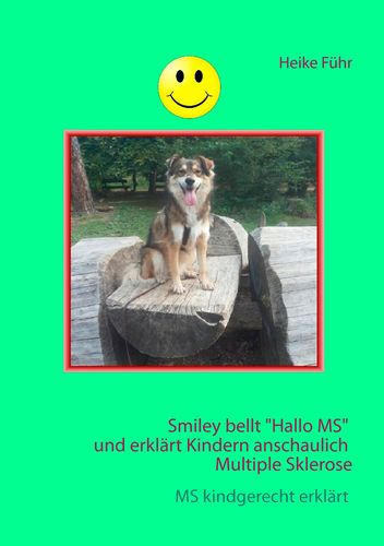 "Smiley bellt ""Hallo MS"""