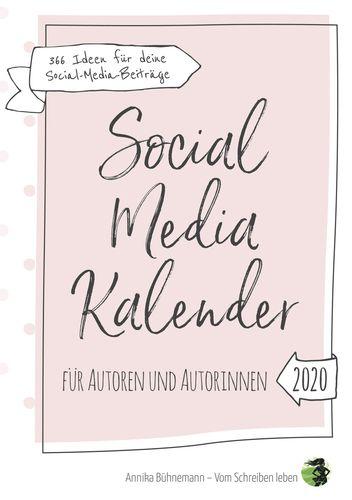 Social Media Kalender für Autoren und Autorinnen