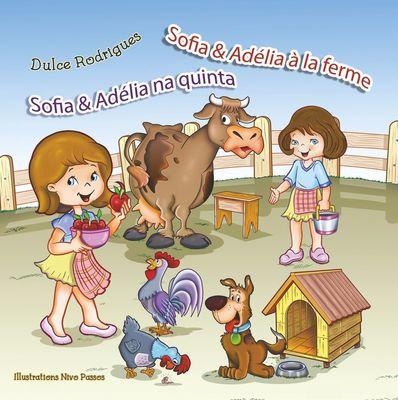 Sofia & Adélia à la ferme