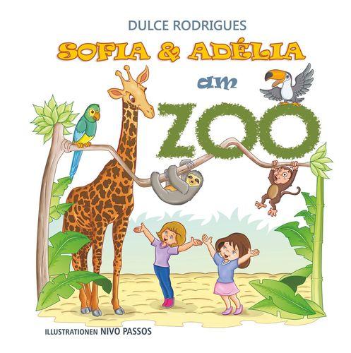 Sofia & Adélia am Zoo