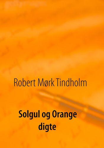 Solgul og orange