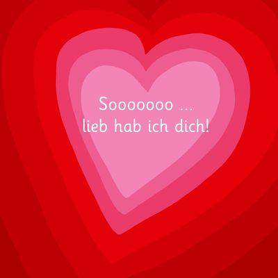 Sooooooo... lieb hab ich dich! - Illustriert von Adrienne Barman