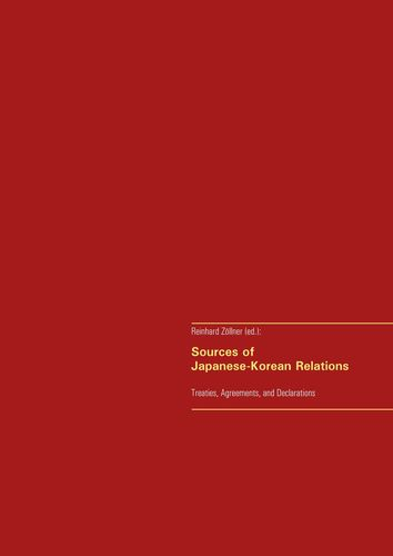 Sources of Japanese-Korean Relations