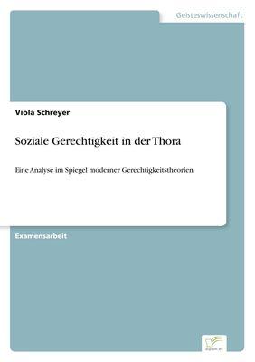 Soziale Gerechtigkeit in der Thora