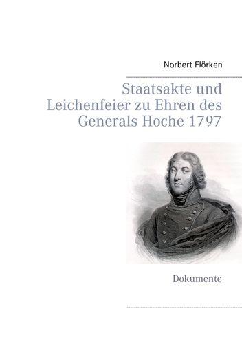Staatsakte und Leichenfeier zu Ehren des Generals Hoche 1797
