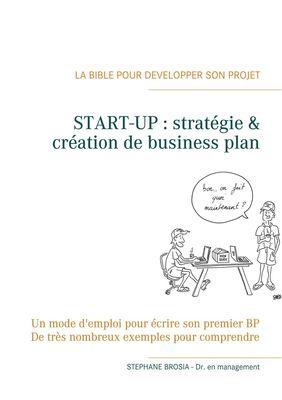START-UP, stratégie & création de business-plan