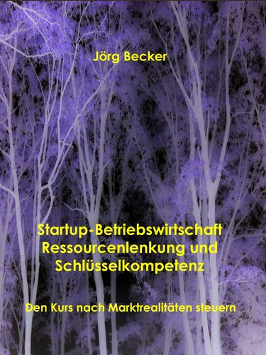 Startup-Betriebswirtschaft - Ressourcenlenkung und Schlüsselkompetenz
