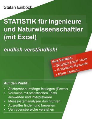 Statistik für Ingenieure und Naturwissenschaftler (mit Excel)