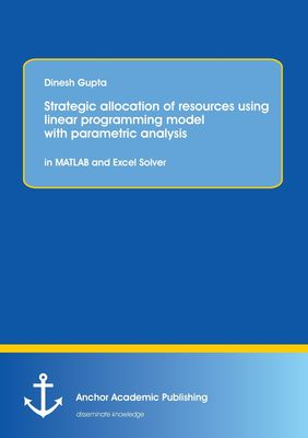 Strategic allocation of resources using linear programming model with parametric analysis: in MATLAB and Excel Solver