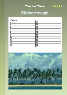Südseetraum - Kalender