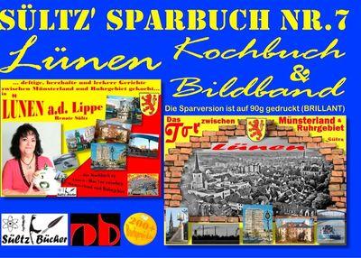 Sültz' Sparbuch Nr.7 - Lünen - Kochbuch und Bildband