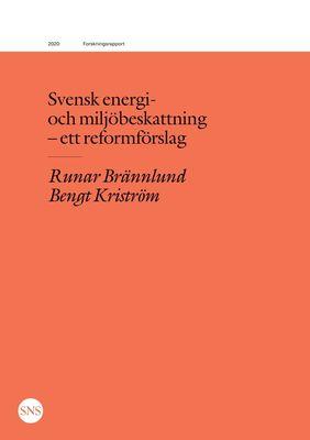 Svensk energi- och miljöbeskattning - ett reformförslag