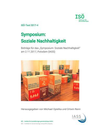 Symposium: Soziale Nachhaltigkeit