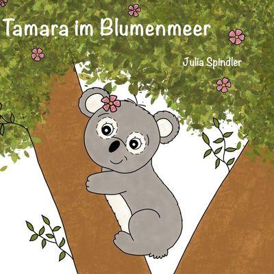 Tamara im Blumenmeer