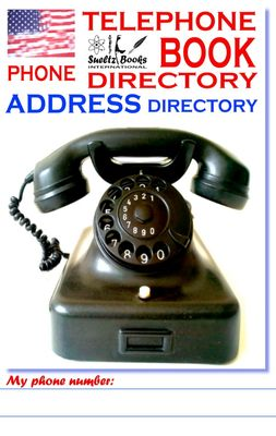 TELEPHONE PHONE BOOK ADDRESS DIRECTORY - Telefon - und Adressbuch