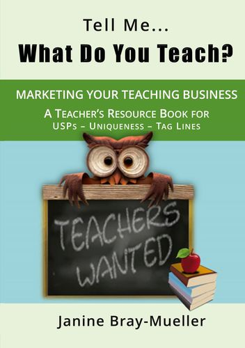 Tell Me... What Do You Teach?
