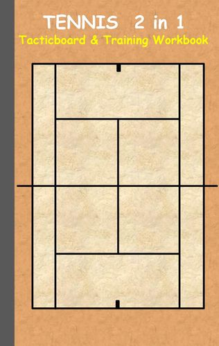 Tennis 2 in 1 Tacticboard and Training Workbook