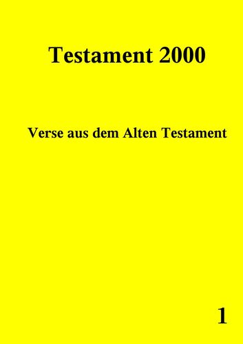 Testament 2000 Band 1
