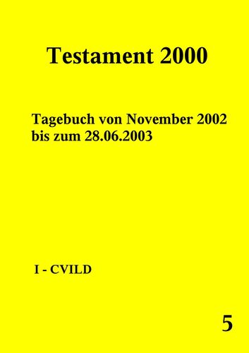 Testament 2000 Band 5
