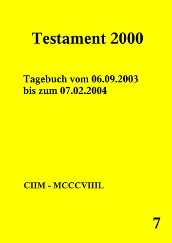 Testament 2000 Band 7