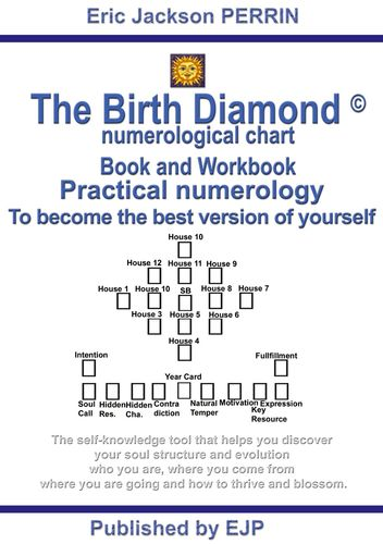 THE BIRTH DIAMOND NUMEROLOGICAL CHART - Book and Workbook