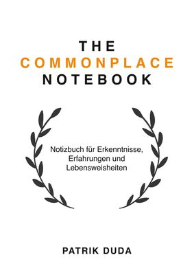 The Commonplace Notebook