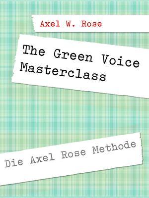 The Green Voice Masterclass