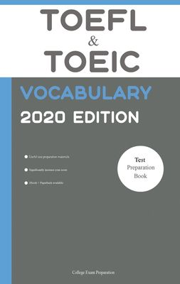 TOEFL and TOEIC Vocabulary 2020 Edition