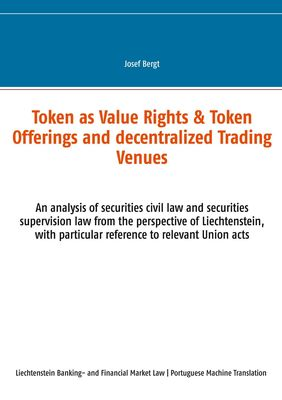 Token como Direitos de Valor & Token Offerings e Centros Comerciais Descentralizados