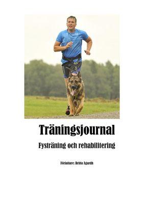 Träningsjournal för hund