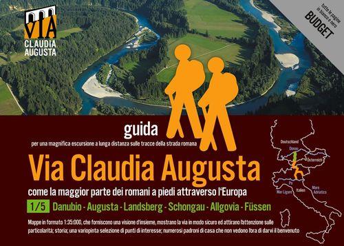trekking VIA CLAUDIA AUGUSTA 1/5 Bavaria BUDGET