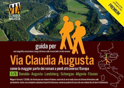 trekking VIA CLAUDIA AUGUSTA 1/5 Bavaria PREMIUM