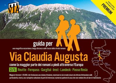 trekking via Claudia Augusta 2/5 Tirol PREMIUM