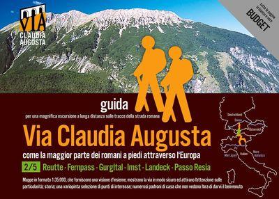 Trekking VIA CLAUDIA AUGUSTA 2/5 Tirolo Budget