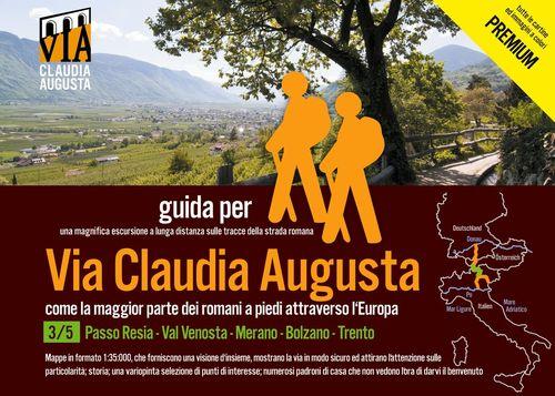 trekking VIA CLAUDIA AUGUSTA 3/5 Reschenpass - Trento PREMIuM