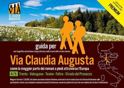 """trekking VIA CLAUDIA AUGUSTA 4/5 """"Altinate"""" PREMIUM"""