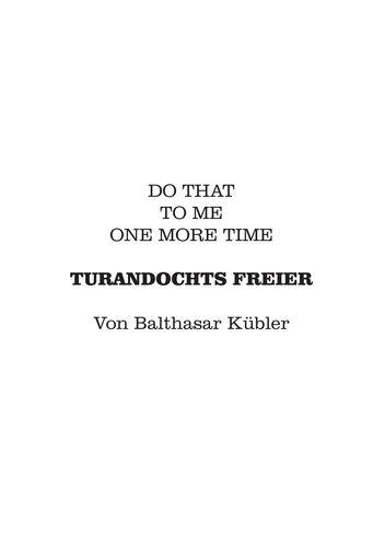 Turandochts Freier