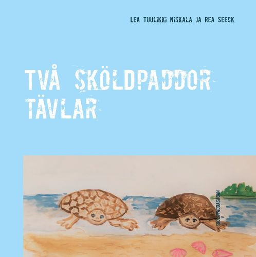 Två sköldpaddor tävlar