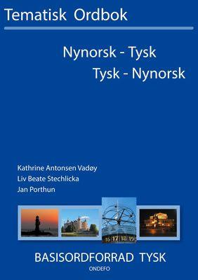 Tysk-nynorsk, nynorsk-tysk tematisk ordbok