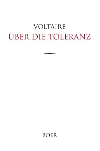 Über die Toleranz