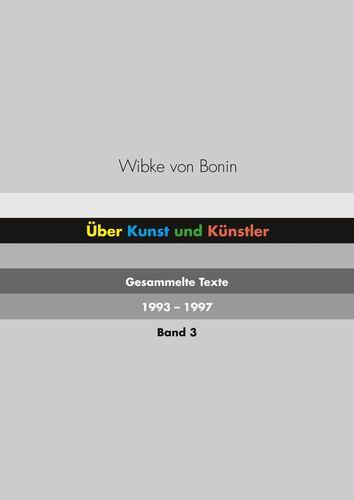 Über Kunst und Künstler Band 3